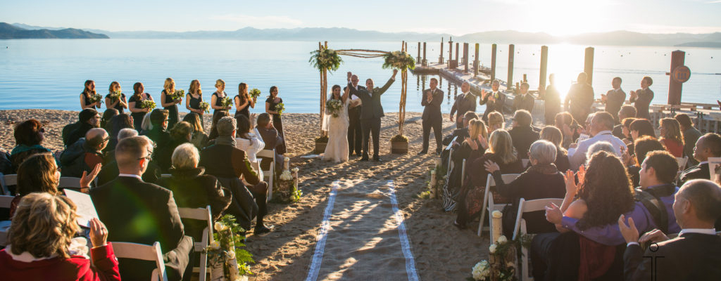 Matt & EMILY'S WEDDING | HYATT LAKE TAHOE